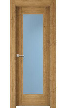 Puerta interior actual madera Nature, maciza ld3 Ambroz H4 1VL, roble F. Madegar