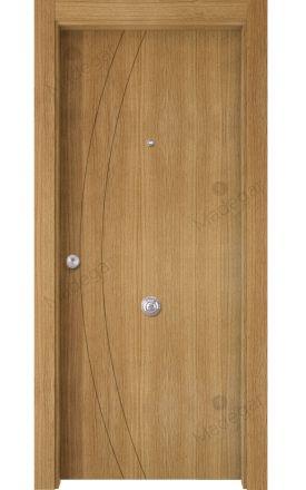 Puerta Entrada actual madera Nature, maciza ld3 Ordesa 2, roble V. Madegar