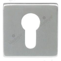 Bocallave YALE I009-C R/Cuadrada P/seguridad INOX