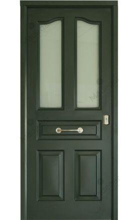 Puerta entrada seguridad acorazada metálica B4 Antique 2 Glass / Lisa 2 Glass. Cearco