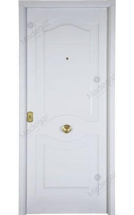 Puerta entrada seguridad acorazada metálica B4 Cearco / Lisa. Cearco