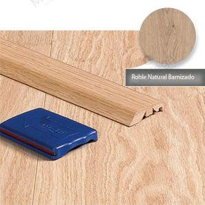 Multiperfil, 4 en 1 60583 en Roble Natural Barnizado, Laminado 4.48cm. Essenz Laminat