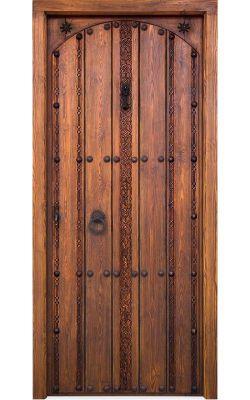 Puerta entrada clásica...