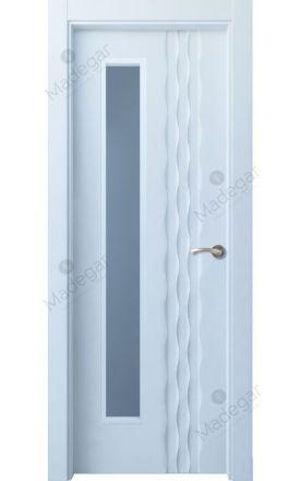Puerta interior lacada Selection, Termo-acústica LD Ulía 1VLD, blanco. Madegar