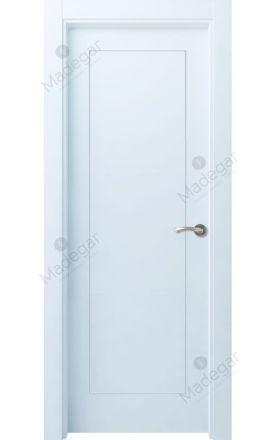 Puerta interior actual lacada Selection, termo-acústica ld7 Bertiz, blanco. Madegar
