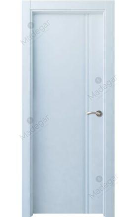 Puerta interior actual lacada Selection, termo-acústica ld7 Cameros, blanco. Madegar