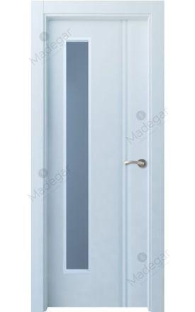 Puerta interior actual lacada Selection, termo-acústica ld7 Cameros 1VLD, blanco. Madegar