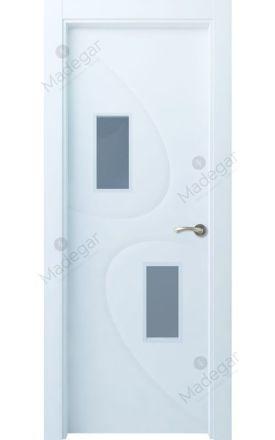 Puerta interior lacada Selection, Termo-acústica LD Turbon 2VE, blanco. Madegar
