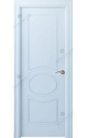 Puerta interior actual lacada Selection, termo-acústica ld7 Chiller, blanco. Madegar