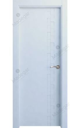Puerta interior lacada Selection, Termo-acústica LD Reina, blanco. Madegar