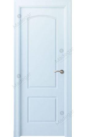 Puerta interior clásica lacada Arc, termo-acústica ld7 R-Lizana, blanco. Madegar