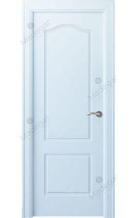 Puerta interior clásica lacada Arc, termo-acústica ld7 R-Saler, blanco. Madegar