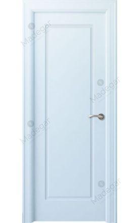 Puerta interior clásica lacada Arc, termo-acústica ld7 R-Oma, blanco. Madegar