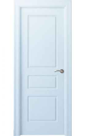 Puerta interior clásica lacada Arc, termo-acústica ld7 R-Breña, blanco. Madegar