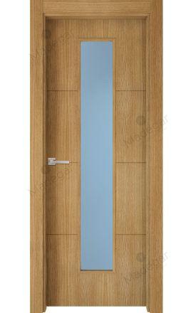 Puerta interior actual madera Nature, maciza ld3 Lin R3 1VLCP, roble V. Madegar