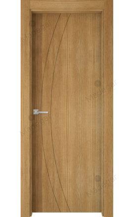 Puerta interior actual madera Nature, maciza ld3 Ordesa 2, roble V. Madegar