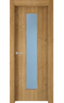 Puerta interior actual madera Nature, maciza ld3 Riaño 1VLCP, roble V. Madegar