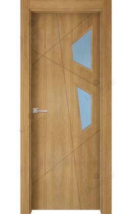 Puerta interior actual madera Nature, maciza ld3 Riaño 2VE, roble V. Madegar