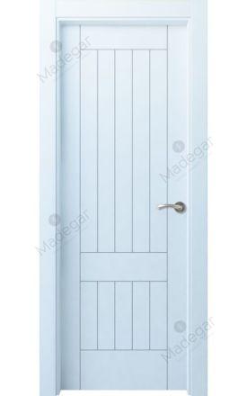 Puerta interior lacada Innova, Termo-acústica LD Oza H1, blanco. Madegar