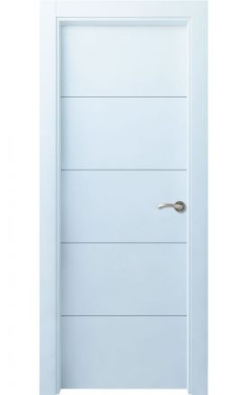 Puerta interior lacada Innova, Termo-acústica LD Lin R4, blanco. Madegar