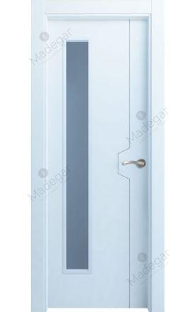 Puerta interior lacada Innova, termo-acústica ld Catasós 1VLD, blanco. Madegar