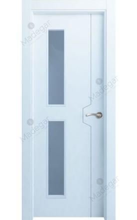 Puerta interior lacada Innova, termo-acústica ld Catasós 2VD, blanco. Madegar