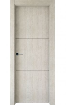 Puerta interior actual madera Nature, maciza ld3 Lin R2, roble V. Madegar
