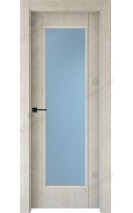 Puerta interior actual madera Nature, maciza ld3 Ambroz H4 1VL, roble V. Madegar
