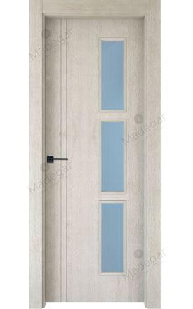 Puerta interior actual madera Nature, maciza ld3 Altube 3VD, roble V. Madegar