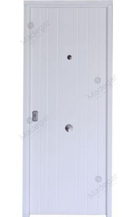 Puerta entrada seguridad acorazada metálica B4 Cibeles / Lisa. Cearco