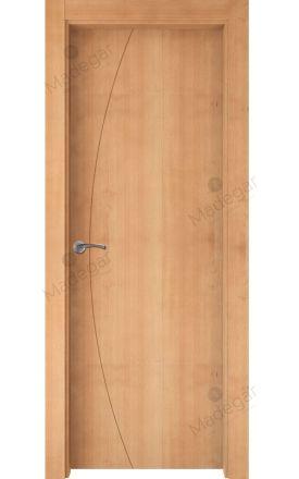 Puerta interior actual madera Nature, maciza ld3 Ordesa 1, haya V. Madegar