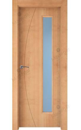 Puerta interior actual madera Nature, maciza ld3 Ordesa 1 1VLD, haya V. Madegar