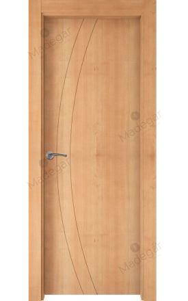 Puerta interior actual madera Nature, maciza ld3 Ordesa 2, haya V. Madegar