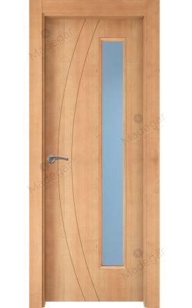 Puerta interior actual madera Nature, maciza ld3 Ordesa 2 1VLD, haya V. Madegar
