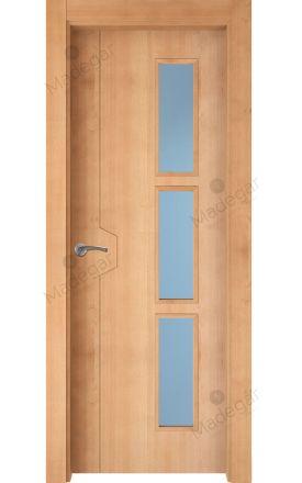 Puerta interior actual madera Nature, maciza ld3 Catasós 3VD, haya V. Madegar