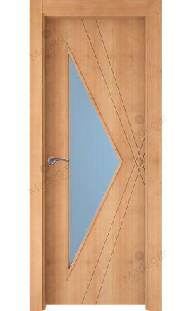 Puerta interior actual madera Nature, maciza ld3 Roya 1VE, haya V. Madegar