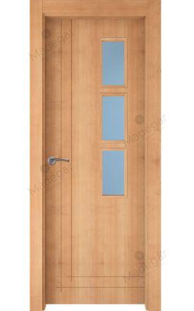 Puerta interior actual madera Nature, maciza ld3 Valsaín 8C 3VD, haya V. Madegar