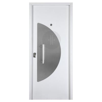 Puerta metálica diseño lacadas