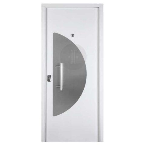 Puerta-de-entrada-exterior-acorazada-arco-inox-blanco