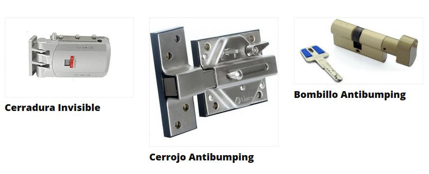 cerraduras antibumping antiokupas