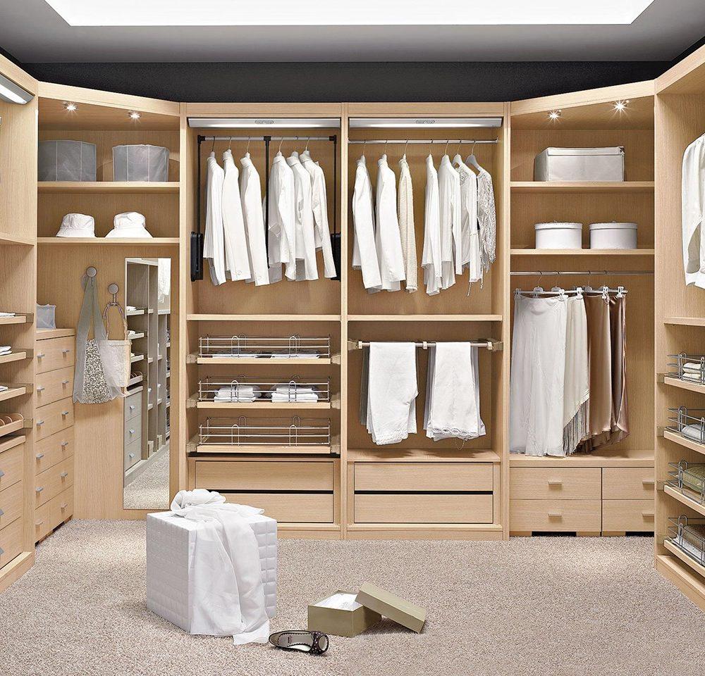 Un vestidor para cada estilo de casa