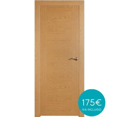 puerta melamina roble