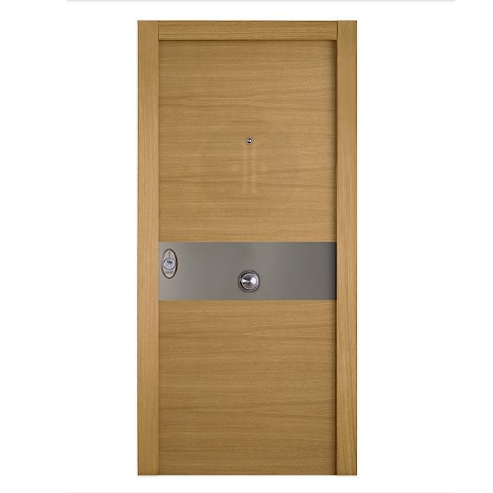 puerta-de-entrada-exterior-acorazada-serie-4B-BH-VT-inox-Roble