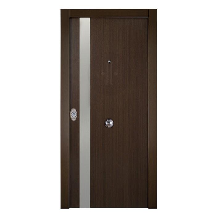 puerta-de-entrada-exterior-acorazada-serie-4B-BV-inox-Wengue