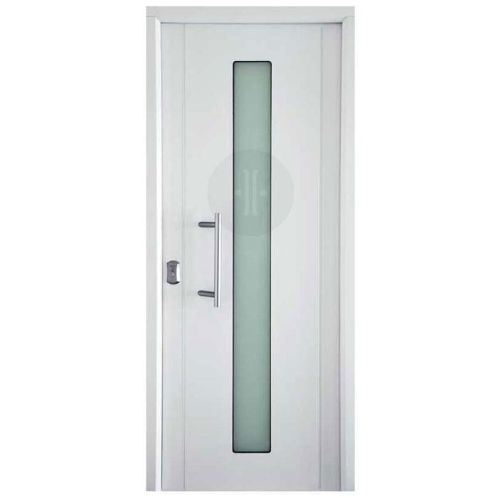 puerta-de-exterior-acorazada-milan-1glass-blanco