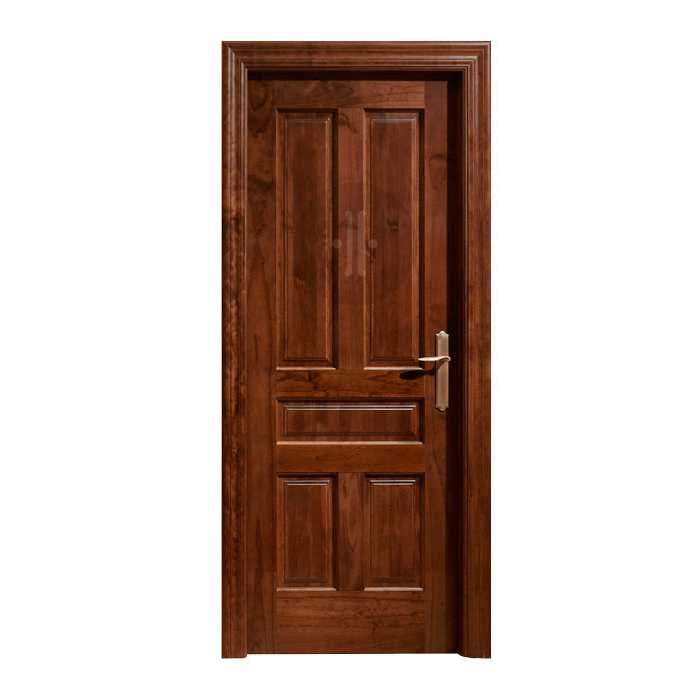 Puerta de interior cl sica en madera de pino modelo 810 - Puertas de madera clasicas ...