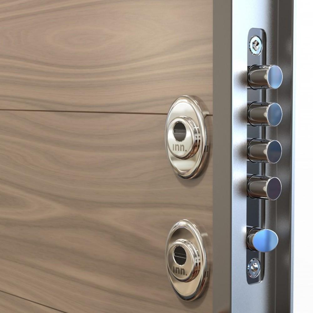 Las partes de una puerta blindada [Guía para comprar]
